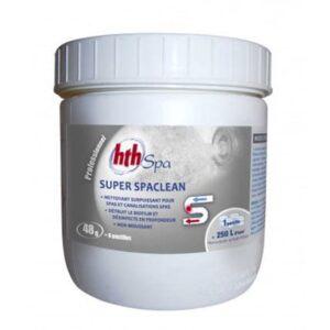 désincruster bactéries spa, désinfectant spa puissant, superspa clean