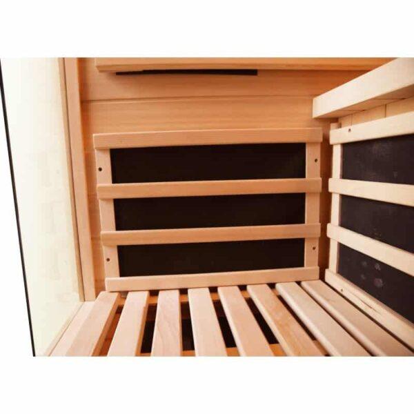 Sauna infrarouge luxe 2 places - Avis sauna infrarouge ...
