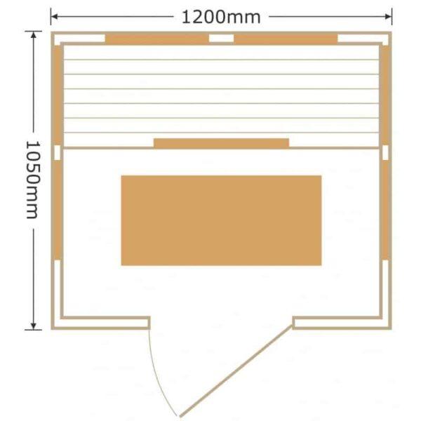 sauna-infrarouge-panneaux-carbone-1840w-luxe-2-places-sno-3