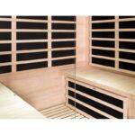 sauna-infrarouge-panneaux-carbone-3200w-luxe-4-places-sno-7