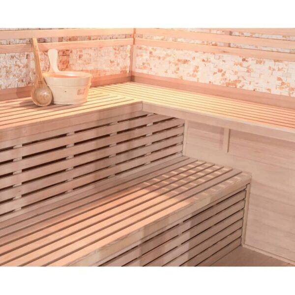 sauna-traditionnel-luxe-5-6-places-Quality Spa-poele-sawo-9000w-3