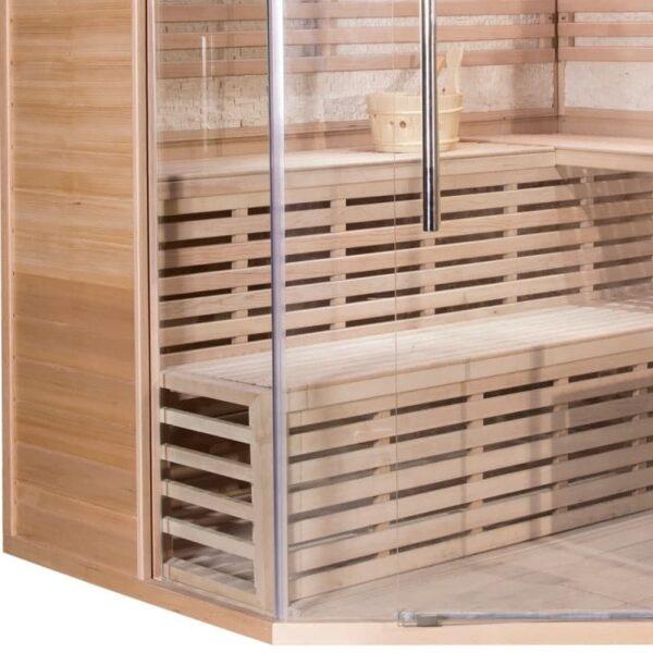 sauna-traditionnel-luxe-5-6-places-Quality Spa-poele-sawo-9000w-5