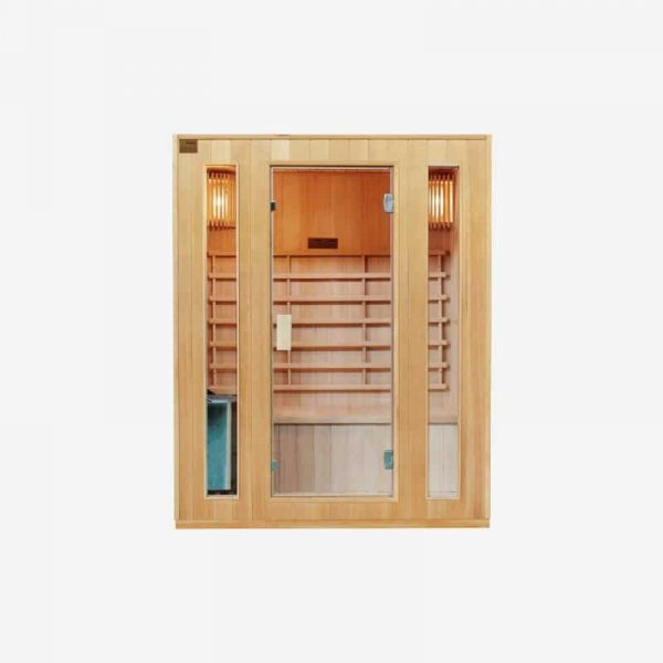 sauna traditionnel 3 places