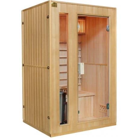 sauna-traditionnel-2-places-poele-harvia-3500w-sno