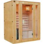 sauna-traditionnel-3-places-poele-harvia-3500w